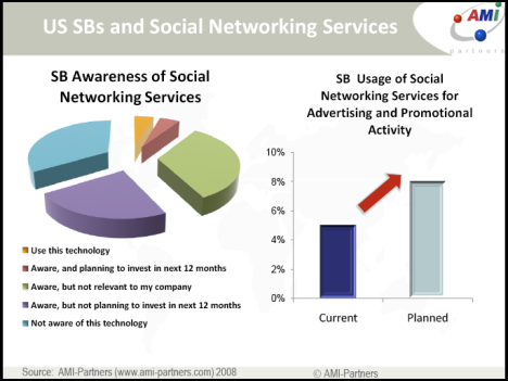 300.000 small business using social networks