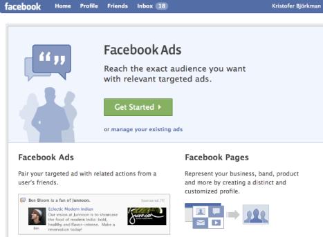 Annonsörer hör inte hemma på Facebook