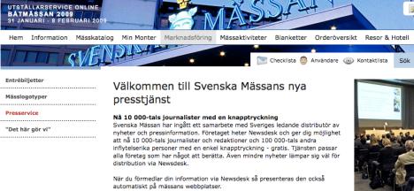 välkommen till svenska mässans nya presstjänst