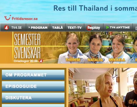 Semestersvenskarna - TV4's längsta reklamfilm