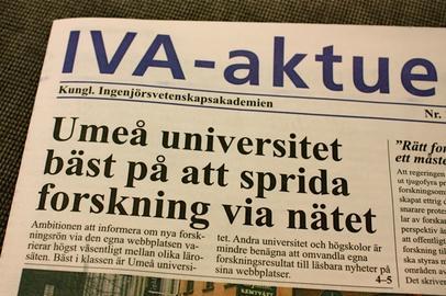 Umeå Universitet bäst på att sprida information via webben