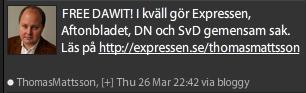 Expressen räddar Dawit