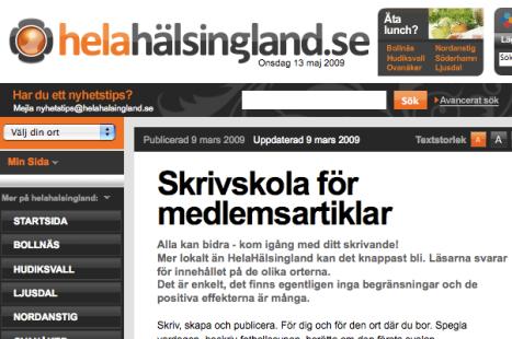 Tidningshus utbildar läsarna i journalistik