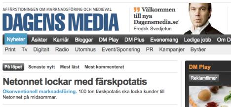 Nya Dagens Media låser arkivet och tar betalt för nyheter