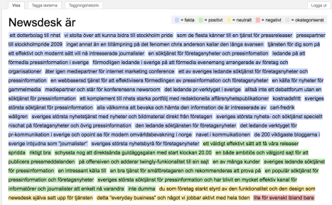 Newsdesk taggad på nya Blogipedia
