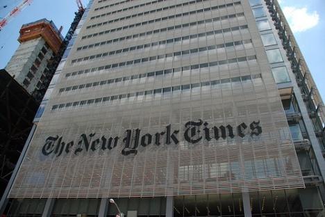 NY Times senaste sparkrav: Inga tidningsprenumerationer till journalisterna